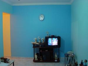 Veja como ficou a sala, após reforma.