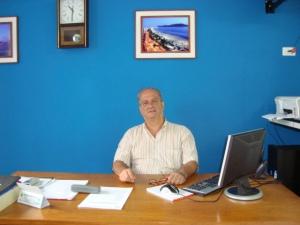 Sr Nilton,Presidente da Sociedade de Melhoramentos.