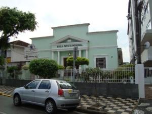 Igreja Batista Memorial,Rua Visconde de Cairú,33
