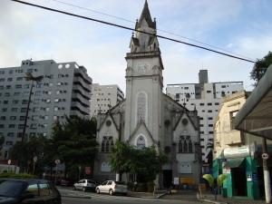 Igreja do Bairro da Pompéia,Rua Euclides da Cunha