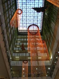 Decoração de Natal do Shopping Miramar no Gonzaga