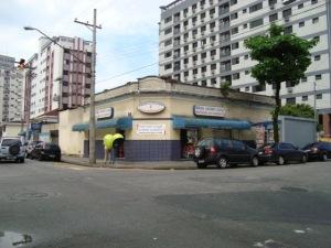 Padaria Bandeirantes, a mais antiga do Bairro do Campo Grande.Rua Visconde de Farias X Rua Pedro Américo.