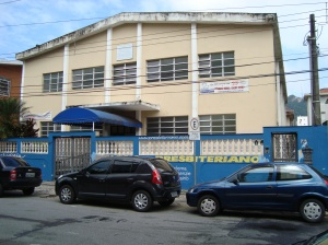 Colégio Presbiteriano de Santos,Rua Visconde de Farias