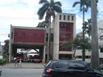 A moderna Sede do Corpo de Bombeiros, na Avenida Ana Costa,389.