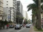 Avenida Ana Costa imediações da Rua Azevedo Sodré.
