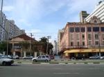 Rua Marcílio Dias,do lado direito o velho Hotel 5ª Avenida e do lado esquerdo o antigo Clube XV,ocupado hoje por uma agência da Caixa Econômica Federal.