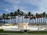 Praça das Bandeiras no coração do Gonzaga.